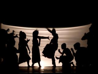 Indonesian shadow play