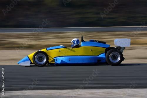 Deurstickers Snelle auto s formule course