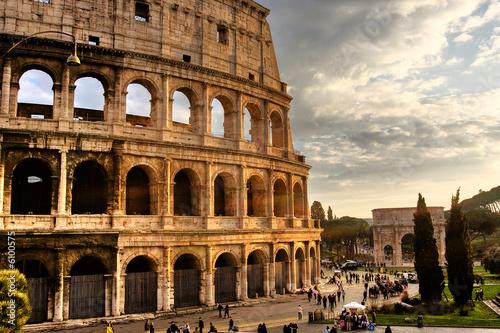 Foto-Kassettenrollo premium - Roma, Colosseo