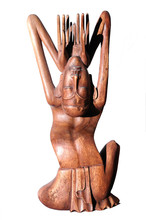 Wood Carved Statue - Bali - In...