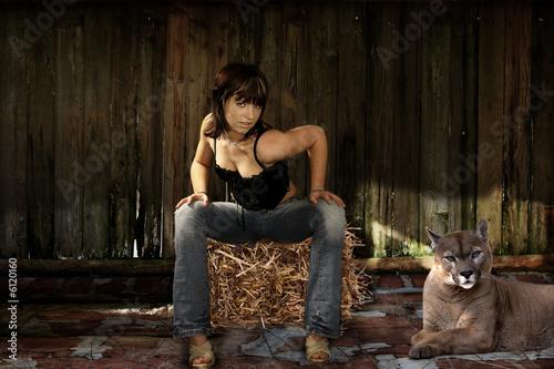 Ingelijste posters Puma die schöne und das biest