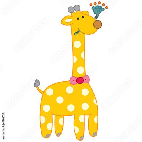 Poster de jardin Zoo Giraffe