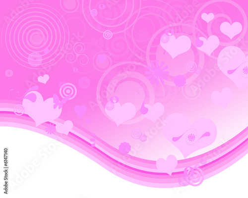 Sfondo Rosa Con Cuori Buy This Stock Illustration And Explore