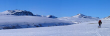 Skiing In The Rondane Mountain...