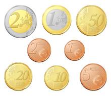 Lot Complet De Pièces Euro