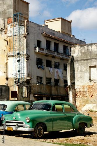 Türaufkleber Autos aus Kuba Cuban Classic Car