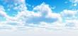 Leinwandbild Motiv Beautiful cloudscape