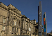 The Entrance To Liverpool Museum