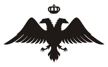 Double Headed Eagle Silhouette...