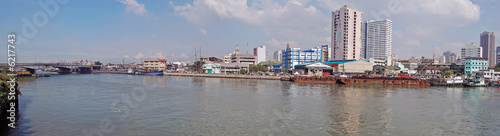 Pasig River, Manila, Panoramic Shot