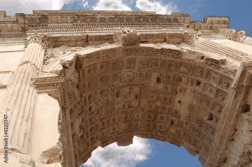 Fototapeta Triumphal arch (Titus arch), Rome