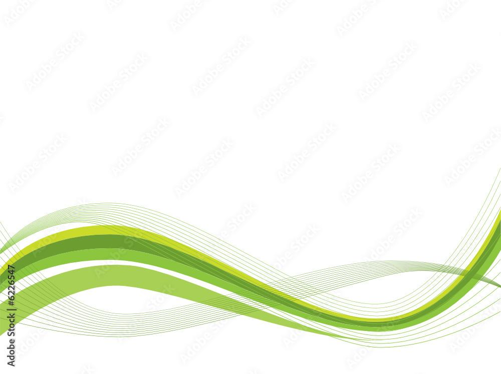 Fototapeta Ecology abstract wave