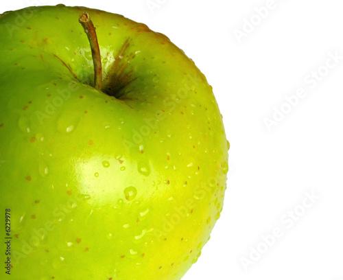 Mela Verde E Sfondo Bianco Buy This Stock Photo And Explore