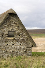 Building Views Of Grimwith Reservoir.