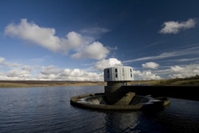 Water Outflow At Grimwith Reservoir
