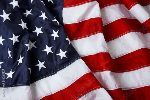 Fototapeta American flag background - shot and lit in studio