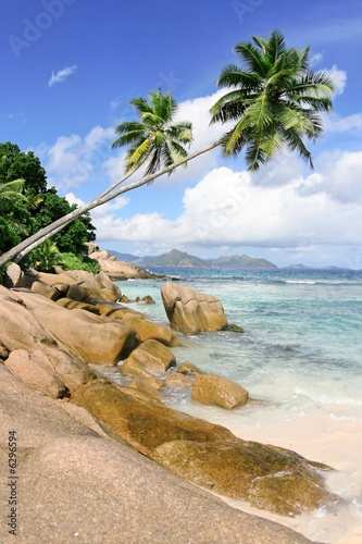 Motiv-Rollo Basic - Seychelles (von xian64)
