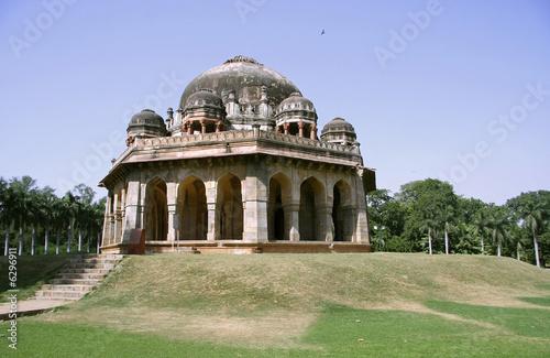 Stickers pour portes Delhi mughal architecture at lodhi gardens, delhi, india