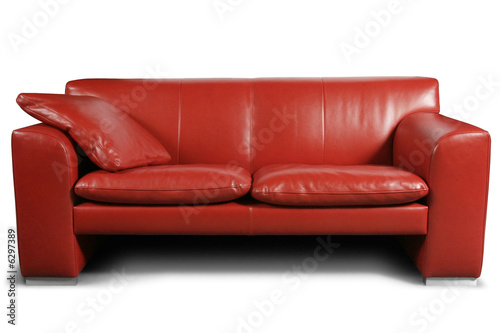 Fotografija  Red sofa