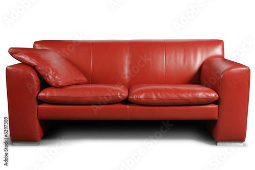Valokuva  Red sofa
