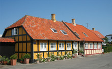 Traditional Houses In Bornholm