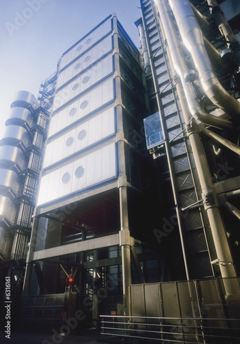 Photo lloyds of london insurance company building london