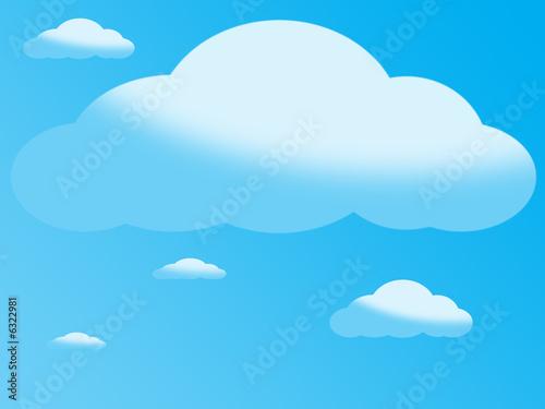Poster Ciel clouds