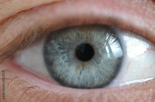 girly eye closeup Canvas Print