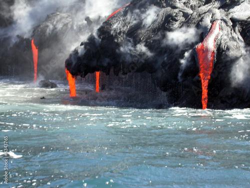 Poster Volcano Kilauea