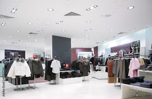 Foto upper clothes in shop