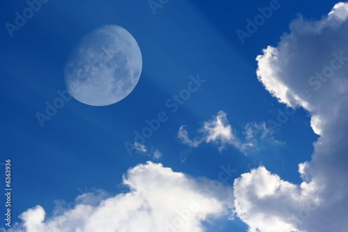 Fotografie, Obraz  The moon