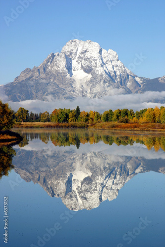 Poster Bergen Grand Tetons National Park Mountains