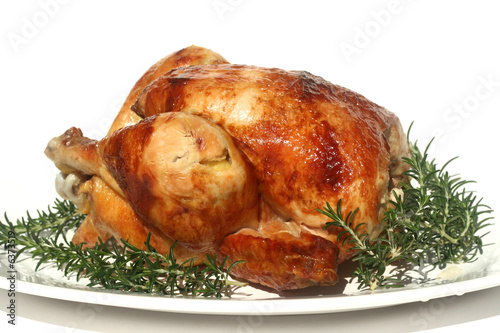 Tuinposter Kip Roasted Chicken