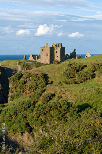 Dunottar Castle in Scotland Canvas Print