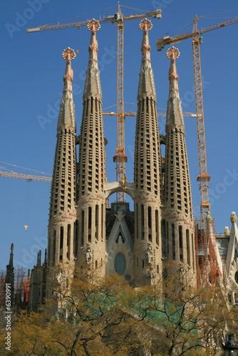 Papiers peints Barcelona Sagrada Familia, Barcelona