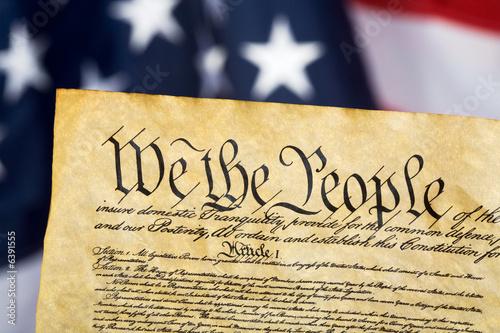 Konstytucja Stanów Zjednoczonych Fototapeta