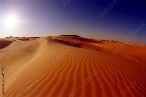 Wall Murals Algeria Dunes in the Sahara desert near Timimoun (Tinerkouk), Algeria