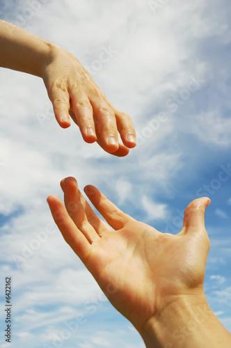 Fotografie, Obraz  A Helping Hand