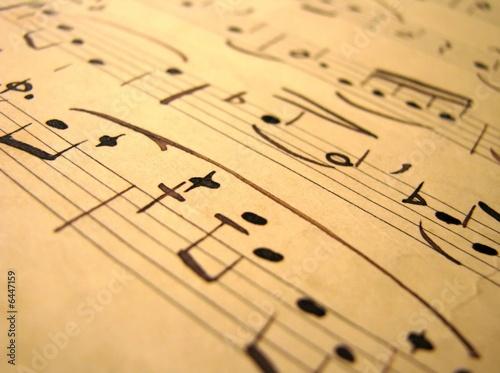 Photo Music sepia - 5