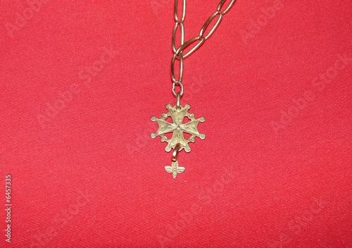 Fototapeta croix huguenote2