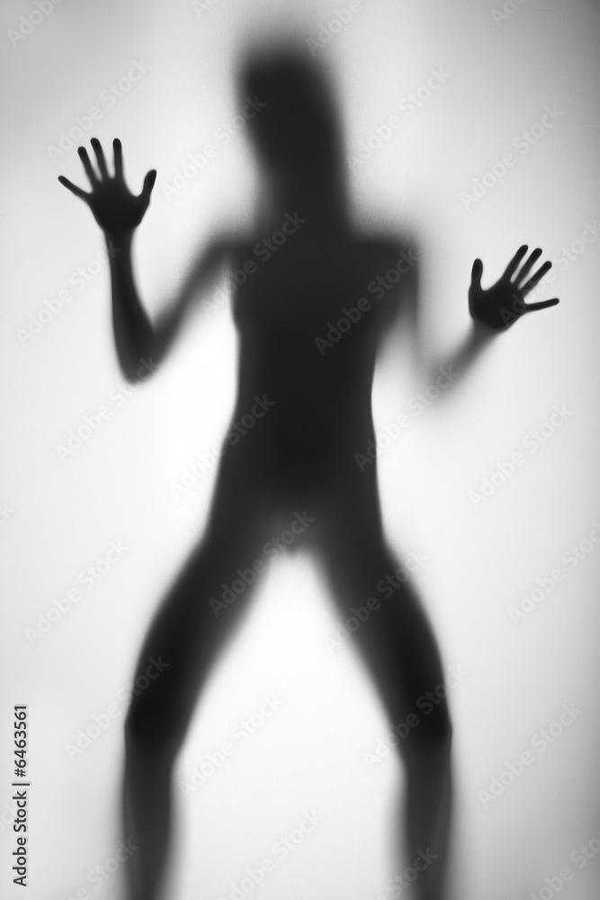 Fototapety, obrazy: Kobieta pod prysznicem