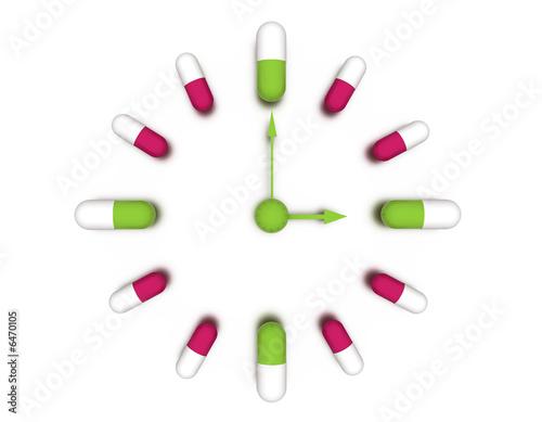pills Wallpaper Mural