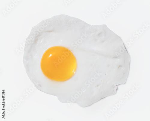 Deurstickers Gebakken Eieren Ei