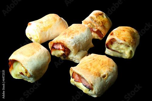 Fotografie, Obraz  Pizzabrötchen