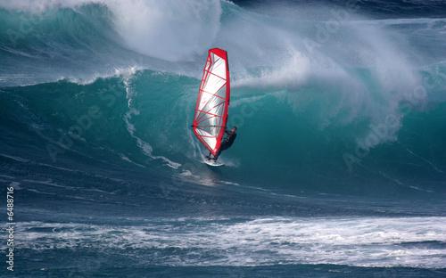 Foto  Windsurfen
