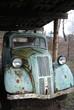 Antique rusted car