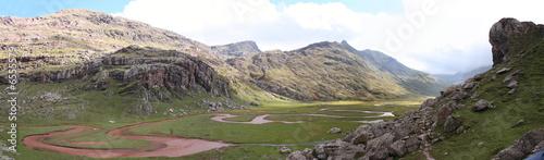 Cuadros en Lienzo valle de aguas tuertas