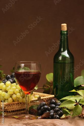 Fototapety, obrazy: Wine composition
