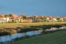 Tropical Florida Housing Tract...
