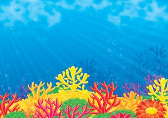 Fototapeta na wymiar Sea background
